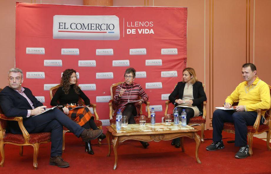 El director de Planes de Empleo del Ayuntamiento de Gijón participa en el desayuno empresarial de El Comercio